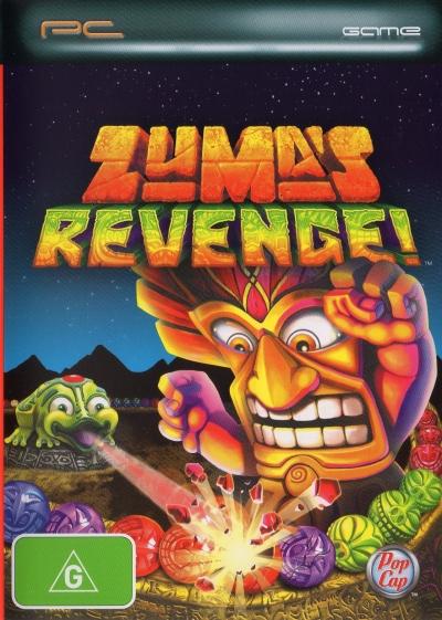 Obal hry Zuma´s Revenge