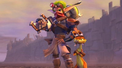 Artwork ke hře Jak and Daxter: The Precursor Legacy