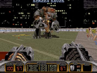 Screen ze hry Duke Nukem 3D