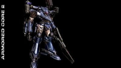 Artwork ke hře Armored Core 2