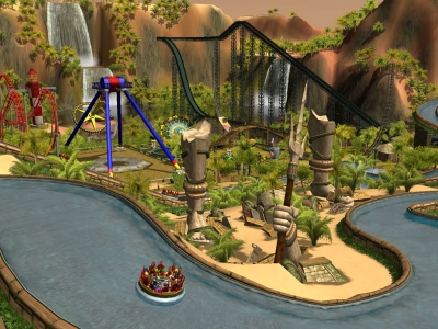 Screen ze hry RollerCoaster Tycoon 3 Platinum