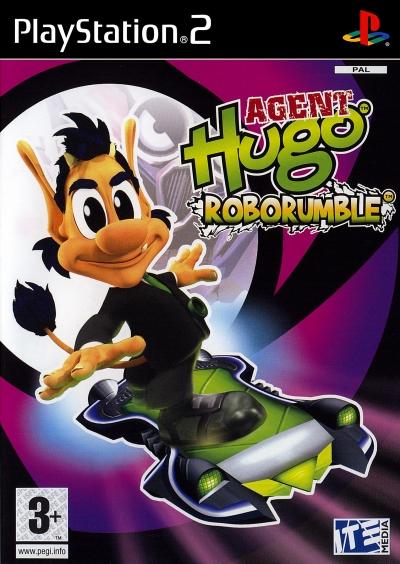Obal hry Agent Hugo: Roborumble