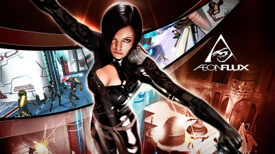 Artwork ke hře Aeon Flux