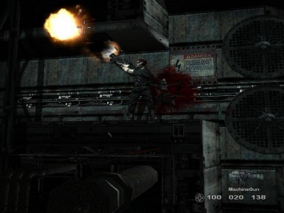 Screen ze hry Blowout
