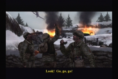 Screen ze hry Call of Duty 2: Big Red One