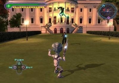 Screen ze hry Destroy All Humans!