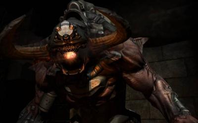 Screen ze hry Doom 3