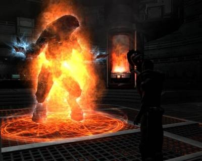 Screen ze hry Doom 3: Resurrection of Evil