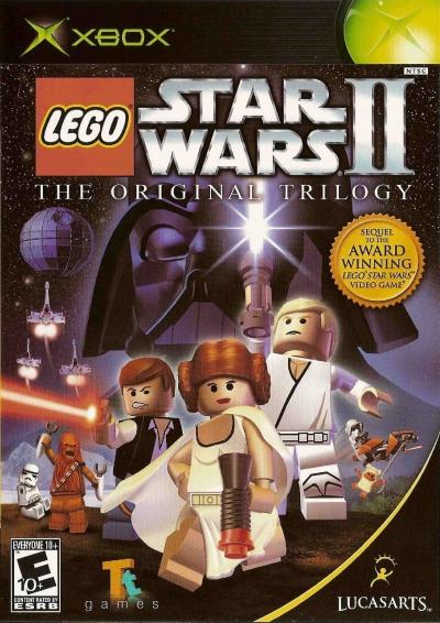 Obal hry LEGO Star Wars II: The Original Trilogy