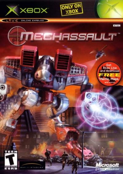 Obal hry MechAssault