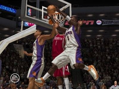 Screen ze hry NBA Live 07