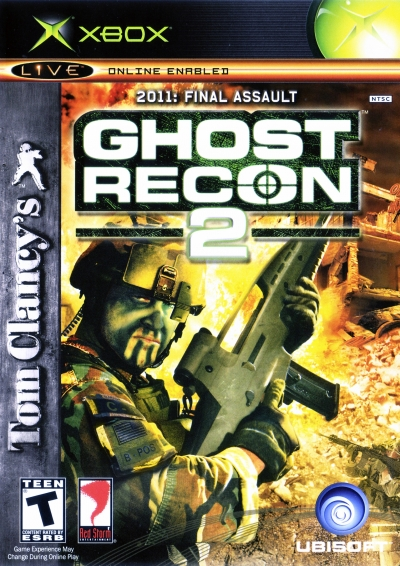 Obal hry Tom Clancy´s Ghost Recon 2
