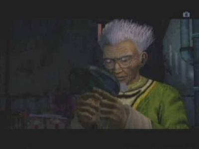 Screen ze hry Shenmue II