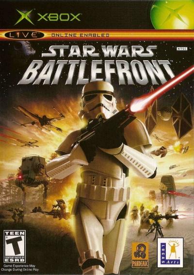 Obal hry Star Wars Battlefront