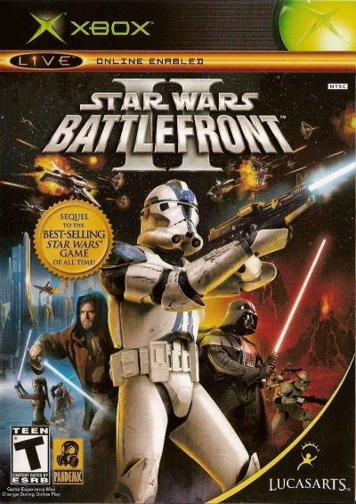 Obal hry Star Wars Battlefront II