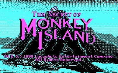 Screen ze hry The Secret of Monkey Island: Special Edition