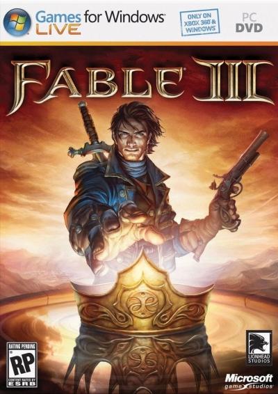 Obal hry Fable III