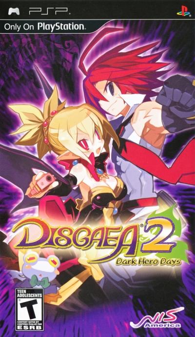 Obal hry Disgaea 2: Dark Hero Days