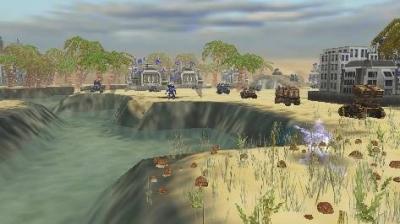 Screen ze hry Field Commander