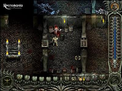 Screen ze hry Necromania: Traps of Darkness
