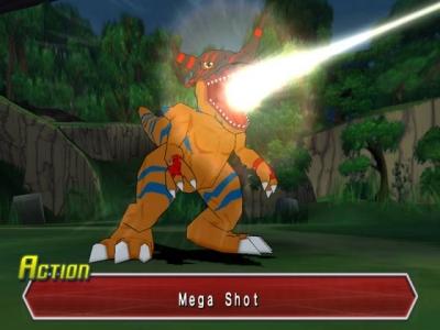 Screen ze hry Digimon World Data Squad