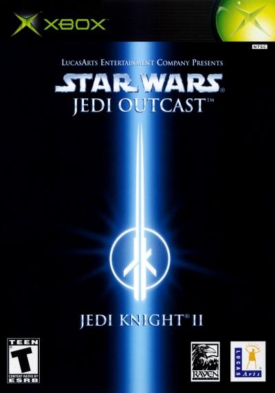 Obal hry Star Wars Jedi Knight II: Jedi Outcast