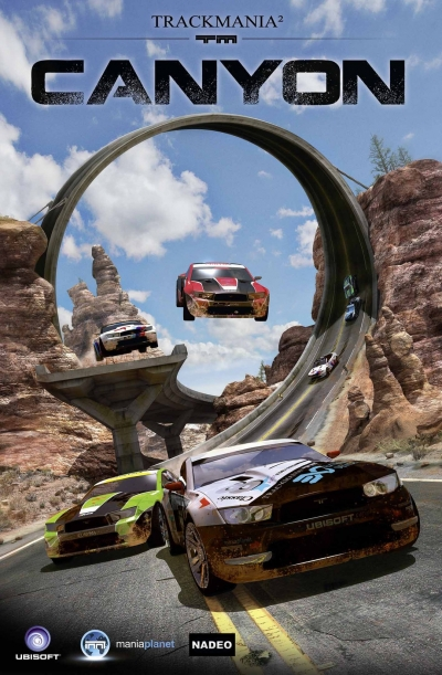 Obal hry TrackMania 2 Canyon