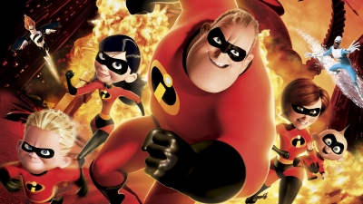 Artwork ke hře The Incredibles: Rise of the Underminer