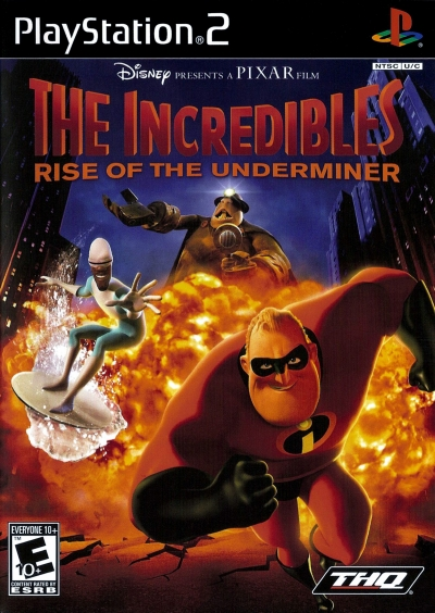 Obal hry The Incredibles: Rise of the Underminer
