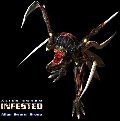 Screen Alien Swarm: Infested