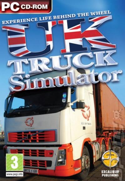Obal hry UK Truck Simulator