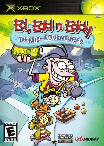 Obal hry Ed, Edd n Eddy: The Mis-Edventures