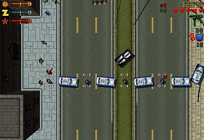 Screen ze hry Grand Theft Auto II