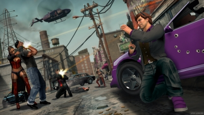Screen ze hry Saints Row: The Third