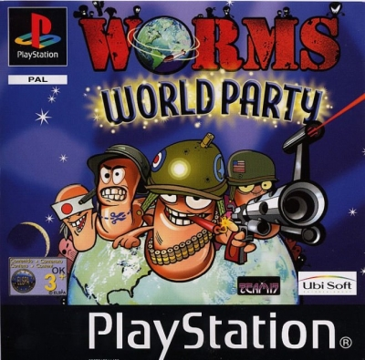Obal hry Worms World Party