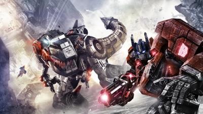 Artwork ke hře Transformers: Fall of Cybertron