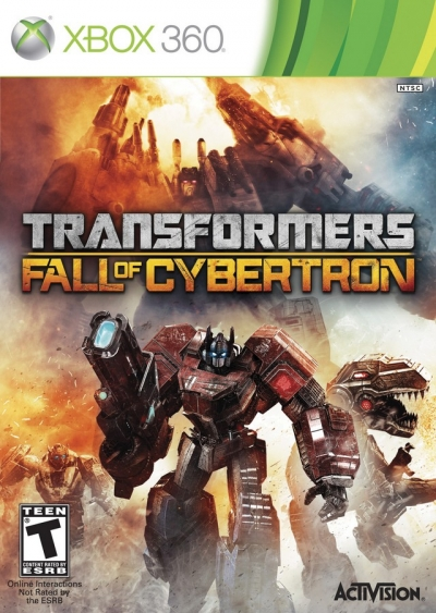 Obal hry Transformers: Fall of Cybertron