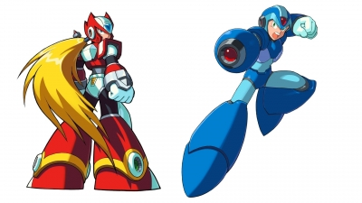 Artwork ke hře Mega Man X5
