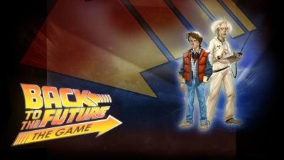 Artwork ke hře Back to the Future: The Game