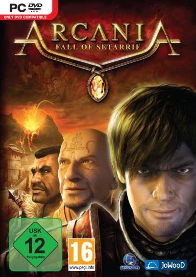 Obal hry Arcania: Fall of Setarrif