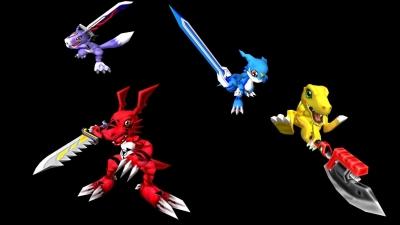 Artwork ke hře Digimon World 4