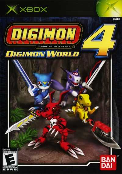 Obal hry Digimon World 4