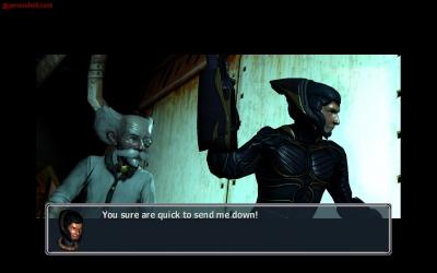 Screen ze hry MDK 2 HD