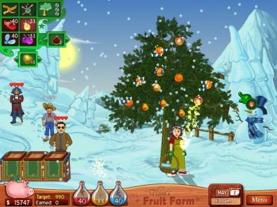 Screen ze hry Flora´s Fruit Farm