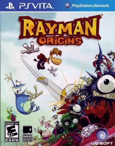 Obal hry Rayman Origins