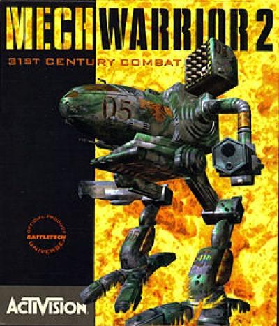 Obal hry MechWarrior 2: 31st Century Combat