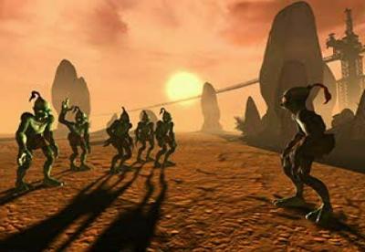 Screen ze hry Oddworld: Abe´s Exoddus