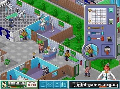 Screen ze hry Theme Hospital