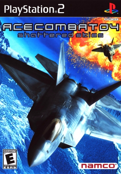 Obal hry Ace Combat 04: Shattered Skies