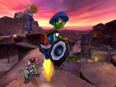 Screen ze hry Sly 3: Honor Among Thieves